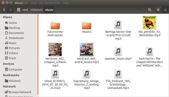 Alguns arquivos MP3 com ID3 contendo figuras.